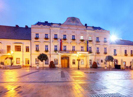 religious building: City hall in Trnava, Slovakia Stock Photo