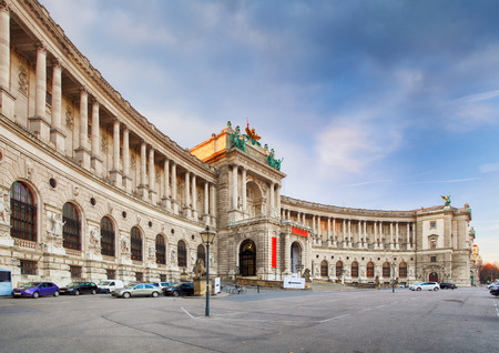 summer palace: Vienna - Hofburg Palace, Austria Editorial
