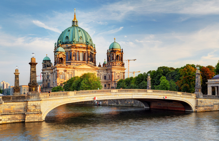 Berlin cathedral, Berliner Dom Stok Fotoğraf - 52054886