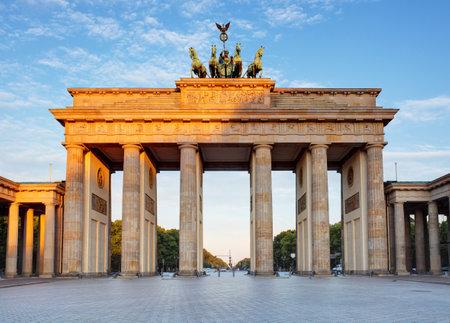 Brandenburg in Berlin, 독일의 수도