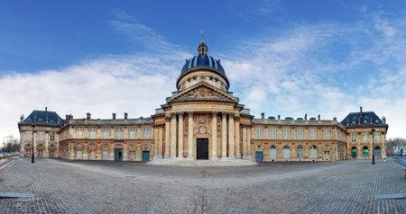 academie: French Institute - Institute de France at day Paris
