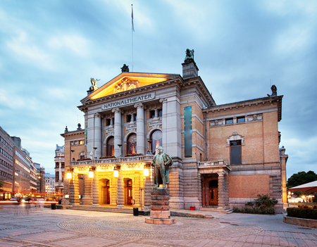 playwright: Oslo - National theater, Norway Editorial