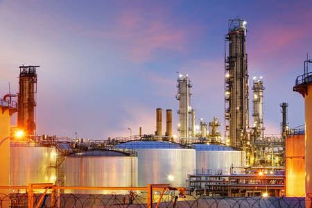 Oil Industry - refinery factory