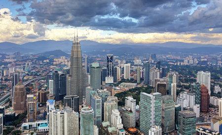 Kuala Lumpur, Malaisie horizon.