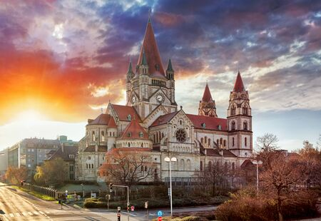 Vienna - St. Francis of Assisi Church, Mexikoplatz