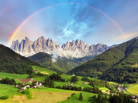 Dolomites alps, Mountain - Italy Standard-Bild