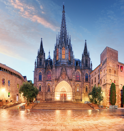 barcelona cathedral: Barcelona cathedral Stock Photo