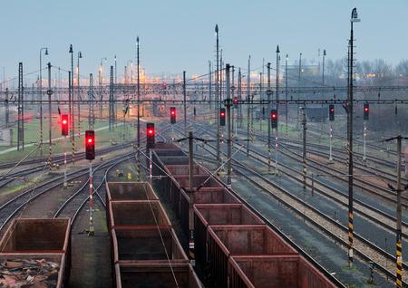 railway transportation: Freight trains - Cargo transportation, Railway