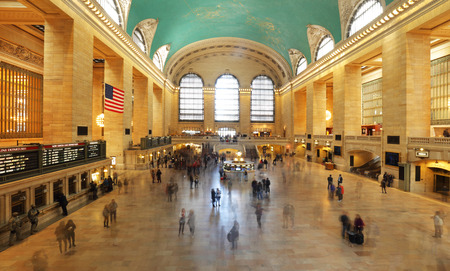 frustrating: Grand Central Station in New York City Editorial