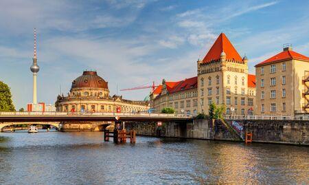 bode: Museum Island in Berlin - Germany Stock Photo