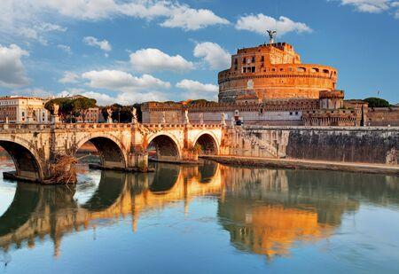 castel: Angelo Castel - Rome, Italy