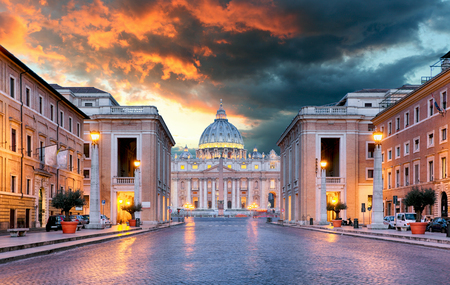 vatican: Rome, Vatican Stock Photo