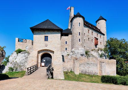 bobolice: Medieval castle Bobolice, Poland