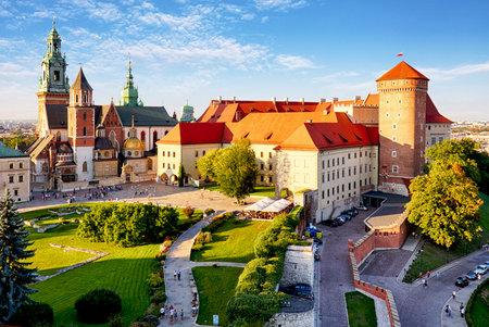wawel: Krakow - Wawel castle at day