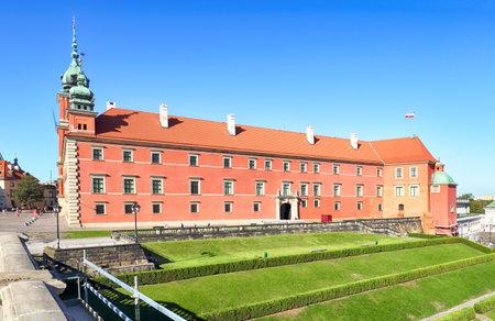 in copula: Royal Castle in Warsaw, Poland