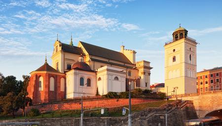 krakowskie przedmiescie: St Annes Church, Warsaw; Poland -  - Kosciol sw Anny Stock Photo