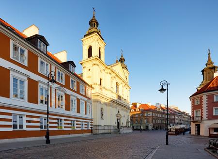 krakowskie przedmiescie: Warsaw - Holy Cross Church, Poland