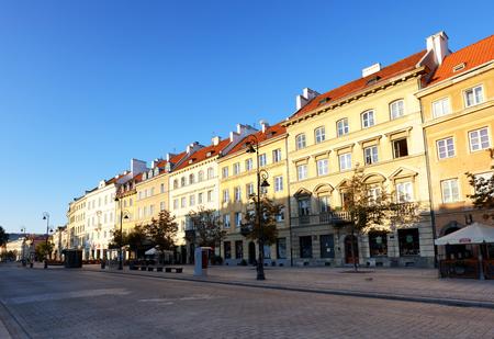 krakowskie przedmiescie: Warsaw, Poland, 20,August 2016 ; Krakowskie Przedmiescie street , part of the Royal Route in the city of Warsaw, Poland.