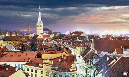 tallin: Tallin old town, Estonia. Stock Photo