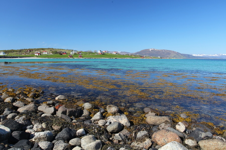 berm: Lofoten blue coast