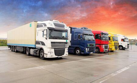 cargo transport: Truck, transportation, Freight cargo transport, Shipping