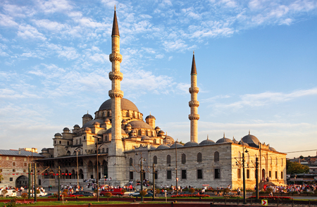 Yeni Cami mosque in Istanbul, Turkey