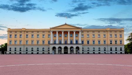 Oslo - Royal palace, Norway Stock Photo