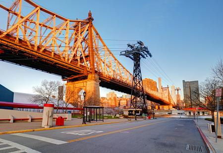 queensboro bridge: Queensboro Bridge, New York City, USA. Stock Photo