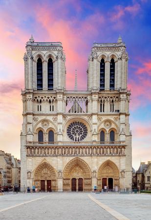 Paris - Notre Dame Stock Photo