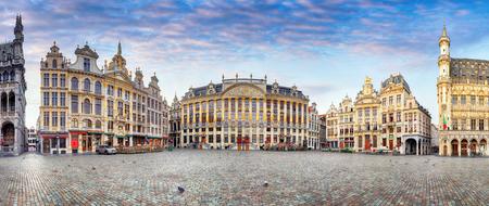 日では、誰も、ベルギー ブリュッセル 写真素材 - 87414276