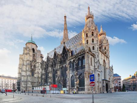Vienna - St. Stephen's Cathedral, Austria 스톡 콘텐츠