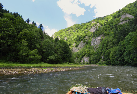 Dunajec river in Pieniny Reklamní fotografie
