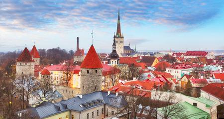 Tallin old town, Estonia. Reklamní fotografie