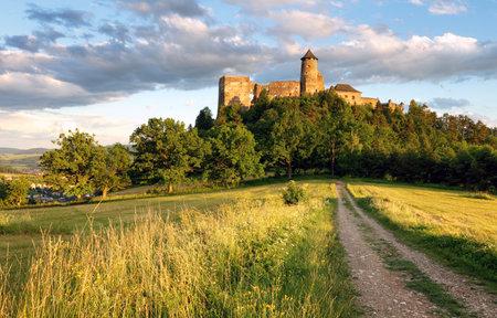 Stara Lubovna castle in Slovakia, Europe landmark Redakční