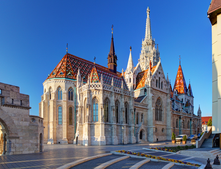 Budapest - Mathias church, Hungary Reklamní fotografie