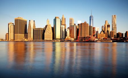 Lower Manhattan, New York, United States Reklamní fotografie