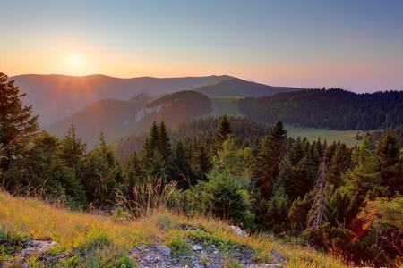 Slovakia mountain landscape at summer Reklamní fotografie