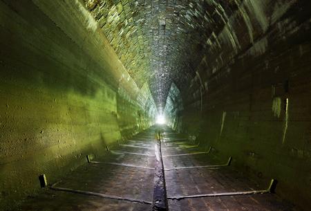 Dark Tunnel  - nobody Reklamní fotografie