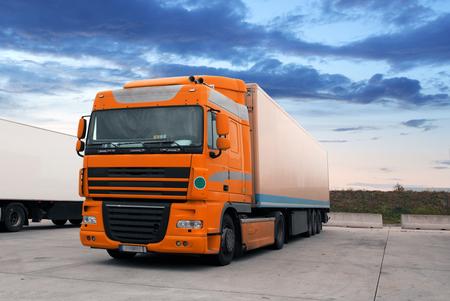 Truck, transportation Reklamní fotografie