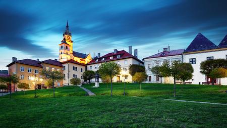 Slovakia - Kremnica city at night Reklamní fotografie
