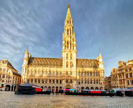 Belgium - Grand Place in Brussels