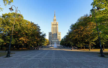 Warsaw, Palace of Culture, Poland