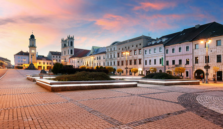 Slovakia, Banska Bystrica main SNP square Reklamní fotografie