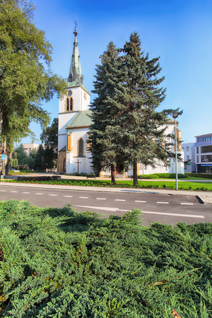 Church in Dolny Kubin in Slovakia, Orava