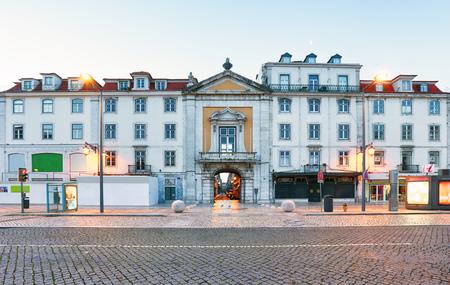 Rossio square in Lisbon Portugal Reklamní fotografie