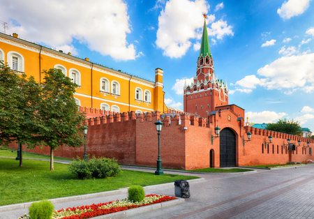 Kremlin Moscow at day, Russia