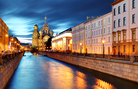 St. Petersburg - Church of the Saviour on Spilled Blood, Russia Stock Photo