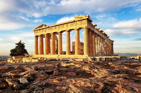 Parthenon on Acropolis, Athens, Greece. It is a main tourist attraction of Athens. Reklamní fotografie