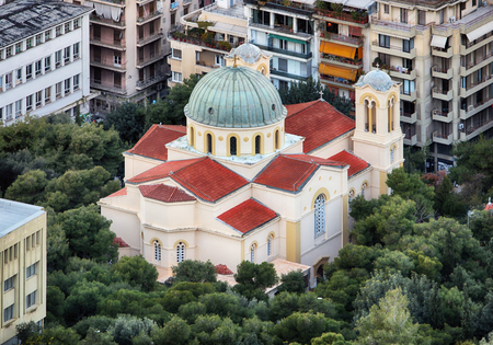 Church of St. Nicholas in Athens, Greece