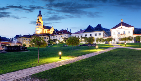Slovakia - historic medieval mining town of Kremnica.
